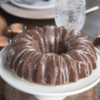 Bundt Cake With Cream Cheese Drizzle