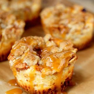 Caramel Apple Cheesecake Bites