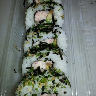 Furikake Norimaki Sushi