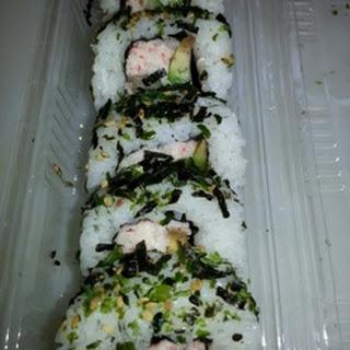 Furikake Norimaki Sushi.