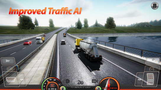 Truck Simulator : Europe 2 MOD Apk (Unlimited Purchases) 4