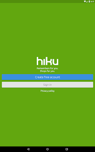 hiku- screenshot thumbnail