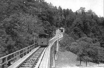 Photo: Lausanne Signal - www.standseilbahnen.ch Standseilbahn Funiculaire Funicular