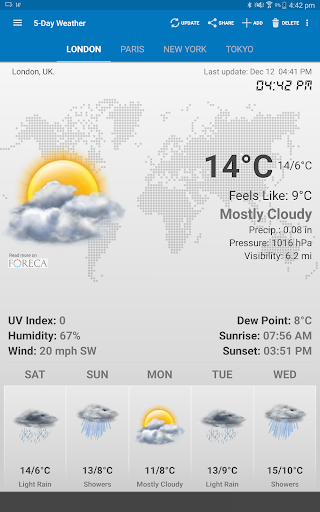 Weather & Clock Widget for Android for PC