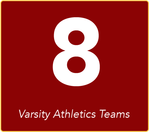 8 Varsity Athletics Programs