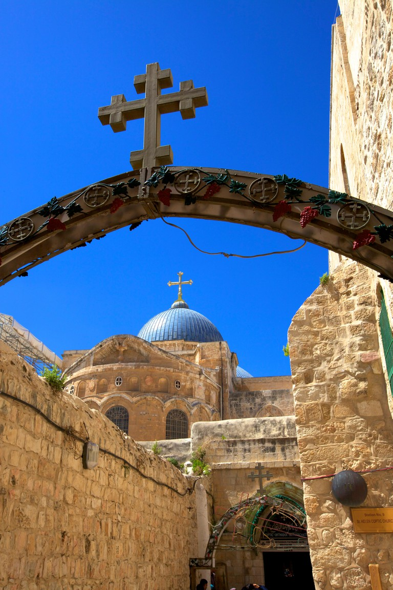 Ethiopian Monastery And Church Of The Holy Sepulchre, Jerusalem, Israel, Middle East