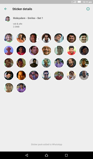 Malayalam Stickers for WhatsApp - WAStickerApps screenshot 2