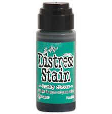 Tim Holtz Distress Stain 29 ml Bottle - Lucky Clover