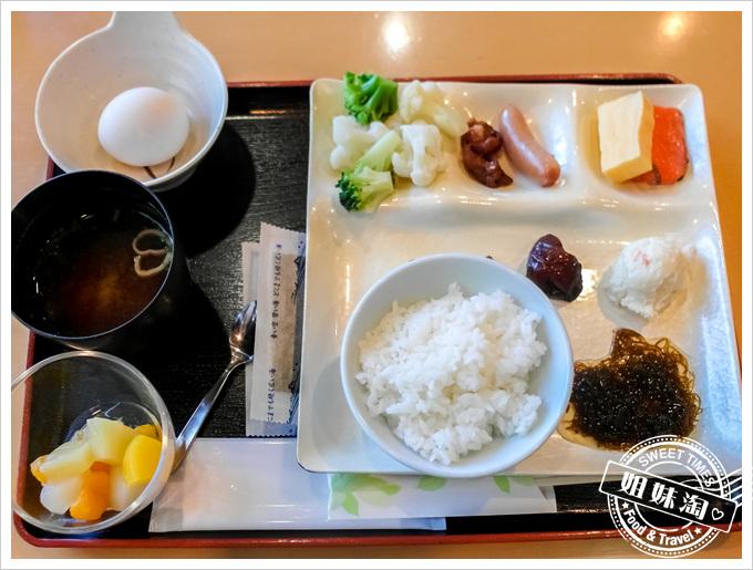 秋田縣十和田湖VIEW飯店早餐