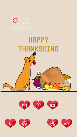 android The Thanksgiving Food Screenshot 1