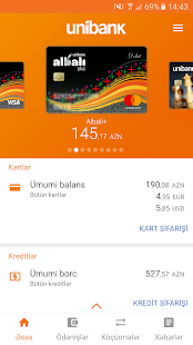 Unibank Mobile - náhled