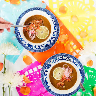 Puréed Black Bean Soup.
