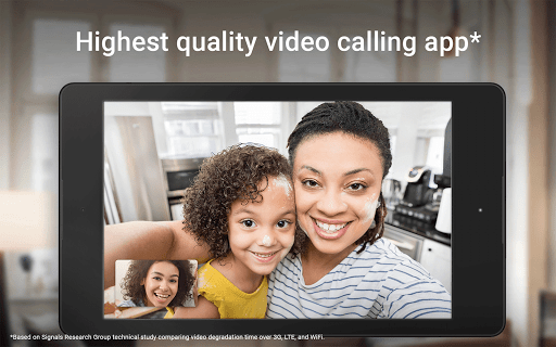 Google Duo - High Quality Video Calls 39.1.213443905.DR39_RC19 screenshots 7