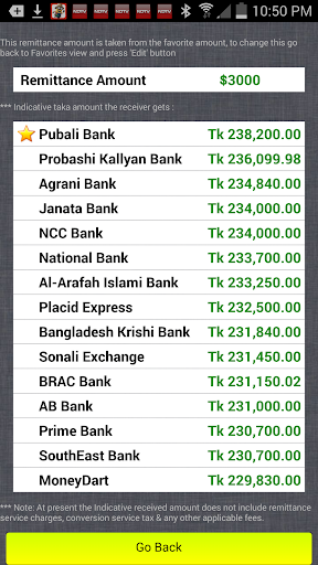 Dollar To Taka Exchange Rates Screenshot 6
