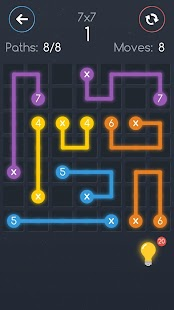 Number link. Connect the dots Screenshot
