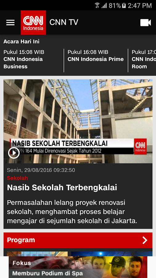 CNN Indonesia - Android Apps on Google Play