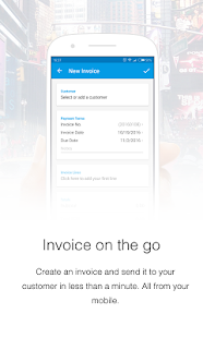 Invoice Now with Debitoor- screenshot thumbnail