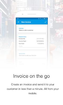 Invoice Now with Debitoor - screenshot