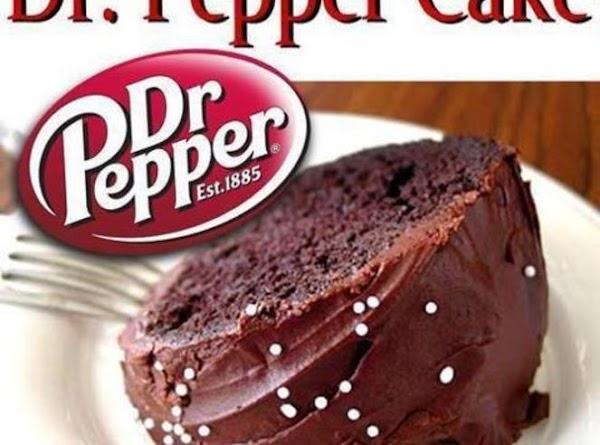 Dr. Pepper Cake Recipe
