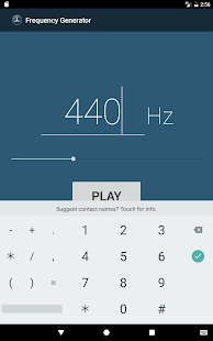 Frekans Jeneratörü Ekran Görüntüsü