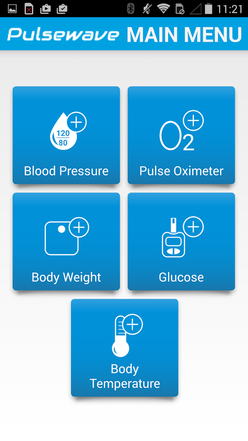 Cloud DX Connected Health- screenshot