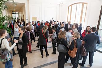 Photo: La pause-café organisée dans le cadre du colloque- Photo Olivier Ezratty