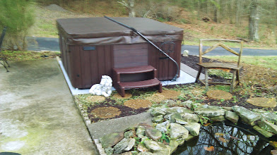 Photo: This is a great product were able to go ahead and setup our hot tub in a temporary location until our deck gets built and then we will use it on the deck Thanks... Jerry S., from Knoxville Tn