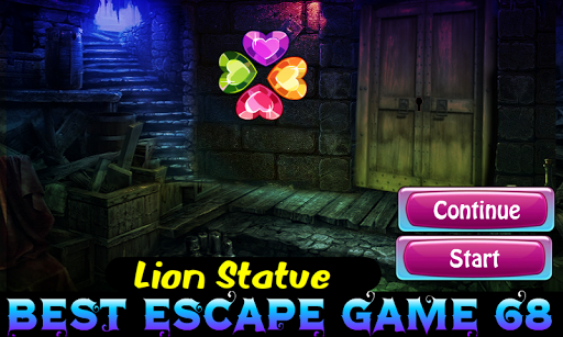 Best Escape 68-Lion Statue