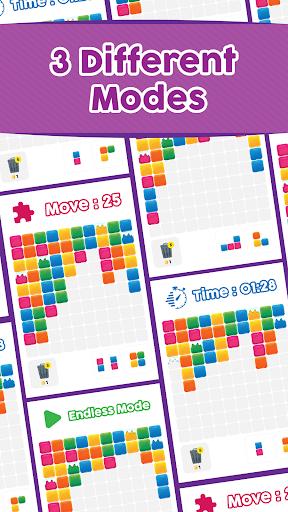 Tetrik: Color Block Puzzle with Reverse Gravity! screenshot 3