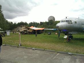 Photo: bar tent, radar dome