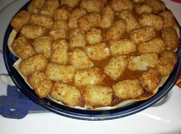 Mexican Tater Tot Pie