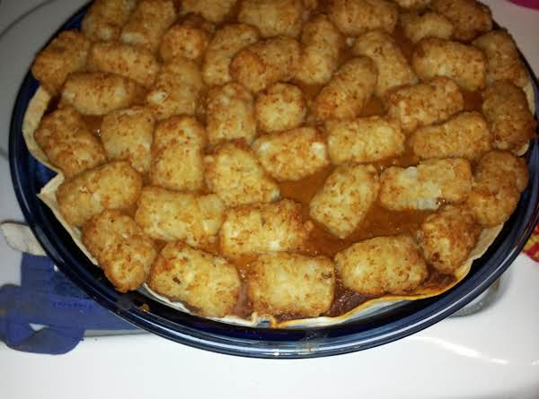 Mexican Tater Tot Pie Recipe