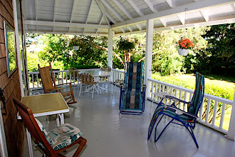 Photo: Main porch.