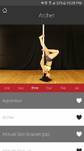 PDC Pole Dance Syllabus- screenshot thumbnail