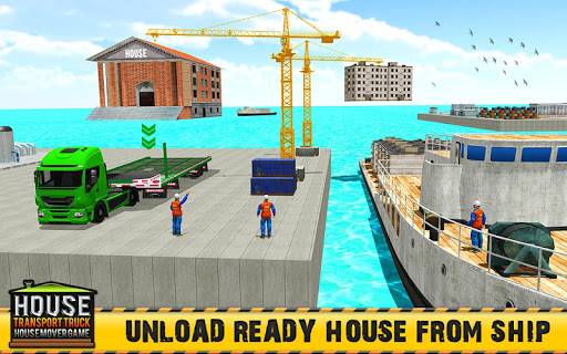 Mobile Home Transporter Truck: House Mover Games 1.0.4 screenshots 4