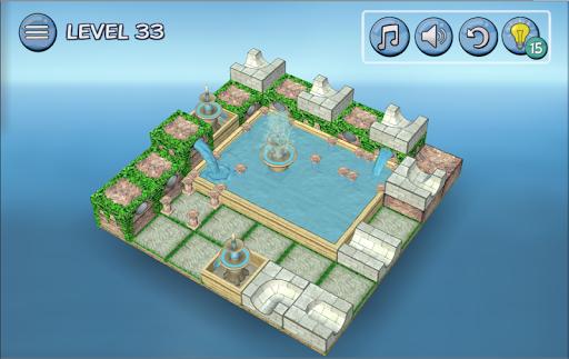 Flow Water Fountain 3D Puzzle Screenshots 12