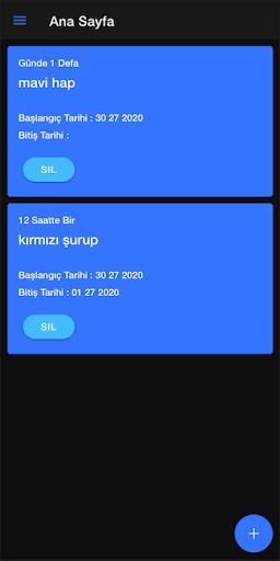 İlaç Hatırlatıcı screenshot 1