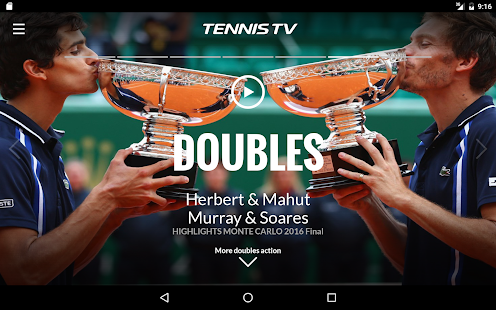 Tennis TV - Live ATP Streaming- screenshot thumbnail