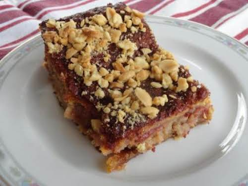 """PB&J Cheesecake """"It's quick, easy and full of flavor ... our kind..."""