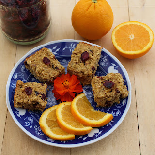 Orange Lentil Granola Bars