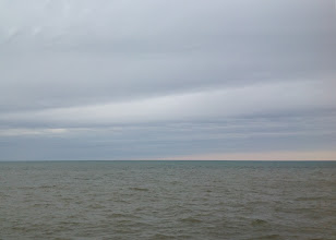 Photo: Lake Huron near Port Austin, Michigan