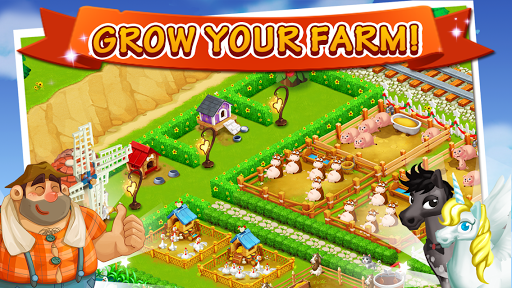 Happy Farm:Candy Day screenshot 3
