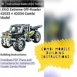 App Instruction Guide LEGO Technic APK for smart watch | Download