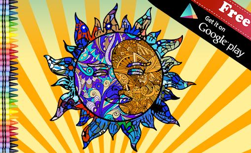 zen doodle dospělý barva - náhled