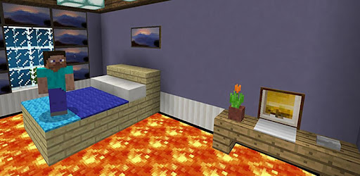 Floor is Lava. MCPE maps parkour for PC