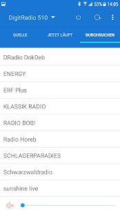 MyDigitRadio Pro - náhled