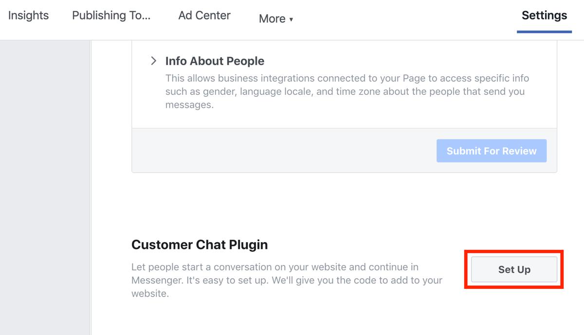 Cách tìm mã code điều hướng đến Facebook