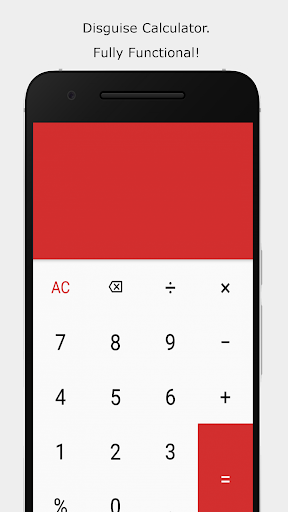 Screenshot for Calculator Vault: Hide Photos & Videos + Applock in United States Play Store