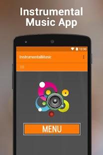 Instrumental Music App - náhled