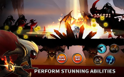 ApkMod1.Com Stickman Legends Shadow Wars + (Stamina PowerUps Gold Gems) for Android Action Game